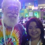 "Me and Jon ""Maddog"" Hall at Campus Party"