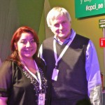 Me and Seth Shostak before his talk at CPMX3
